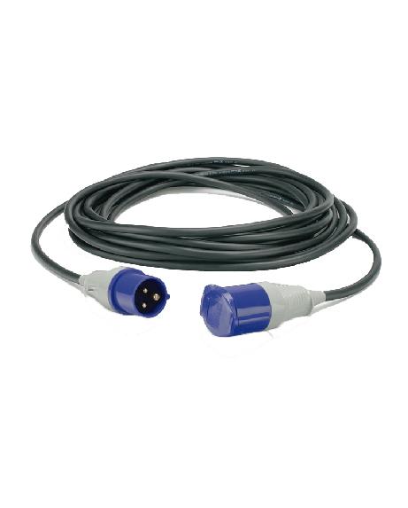 CEDI0017 CABLE STECK 3 X 32A. (6MM.)MONOFASICO - 10 MTS - CACODELPHIA