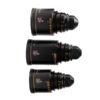 SET LENTE ANAMORFICO ATLAS/ORION 32mm, 50mm, 80mm T2 C/ Valija